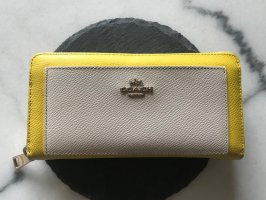 Coach Wallet white-primrose leather