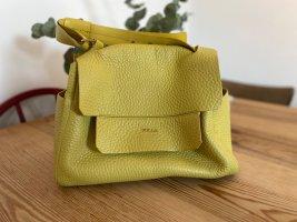 Gelbe Furla Handtasch