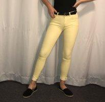 Mango Jeans vita bassa giallo pallido-giallo chiaro