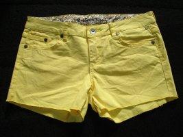 gelbe Jeans Shorts von Element