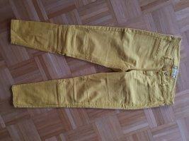 gelbe Jeans Zara