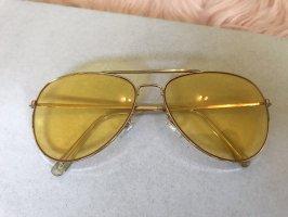 Jay Jays Okulary żółty-złoto