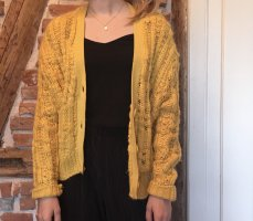 Urban Outfitters Coarse Knitted Jacket multicolored