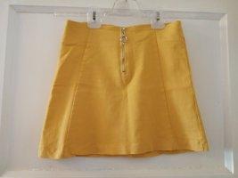 Nakd Miniskirt dark yellow