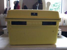 Cosmeticabox geel