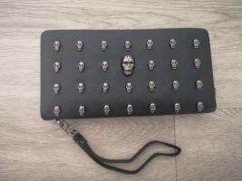 Portemonnee zwart-zilver