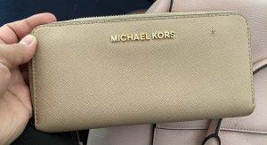 Michael Kors Cartera beige