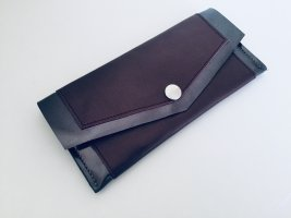 Card Case brown red leather