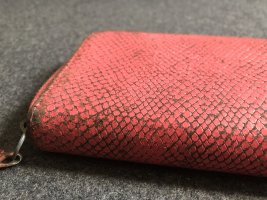 Liebeskind Wallet neon pink-pink leather