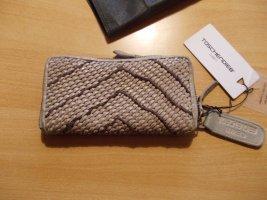 Taschendieb Portemonnee zandig bruin Leer