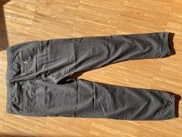 Roxy Pantalon boyfriend noir-gris foncé coton