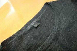 gemütlicher Pullover von COS Wolle + Seide Gr S - lang, leicht
