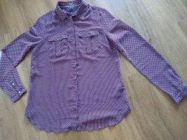 Gemusterte Bluse von Tommy Hilfiger