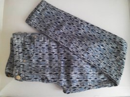 Gemusterte Scarlett Lee Skinny Jeans, Größe W29 L31, fällt wie 36 aus