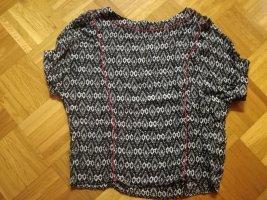 Gemusterte Shirt-Bluse