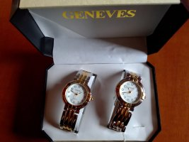 keine Analog Watch silver-colored-gold-colored