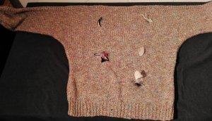 Jersey de lana multicolor Algodón