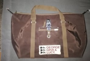 Georg Gina & Lucy Sac de sport brun-marron clair nylon