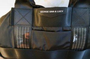 George Gina & Lucy SFunny schwarz/pink mit Pailetten