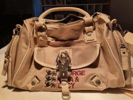 George Gina & Lucy Handbag grey brown-light brown