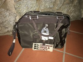 George Gina & Lucy Bowling Bag dark brown synthetic