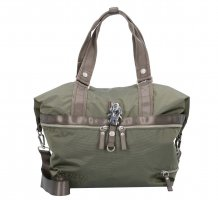 George Gina & Lucy Shopper olive green nylon