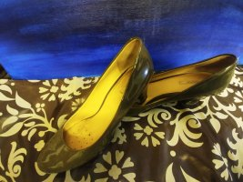 Geox Classic Court Shoe beige leather