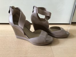 Geox Wedge Sandals beige-rose-gold-coloured