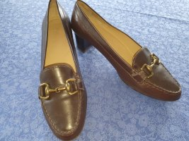 Geox Loafers dark brown leather