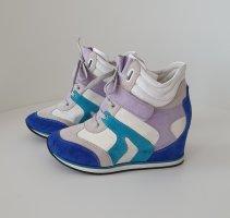 Geox Respira Damen Schuhe Sneakers Turnschuhe Keilabsatz Gr.38