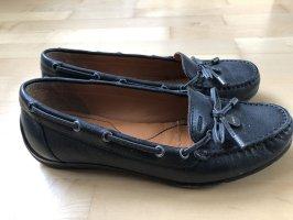 Geox Respira Mocassins noir cuir