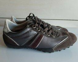 GEOX Respira Sneaker braun Gr. 37 neuwertig