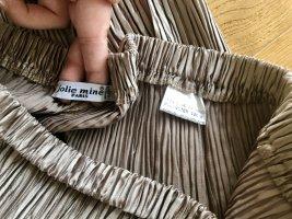 Pantalón anchos color bronce Poliéster