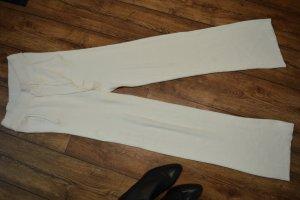 Nakd Pantalón de cintura alta blanco-blanco puro