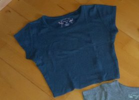 New Yorker Ribbed Shirt slate-gray