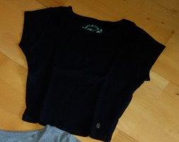 New Yorker Ribbed Shirt black