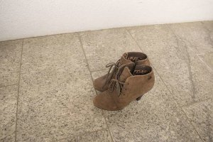 Gerry Weber Ankle Boots grey brown leather