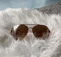 claire's Aviator Glasses rose-gold-coloured