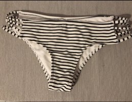 Gestreifte Bikinihose hollister