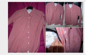 gestreifte bluse gr  40