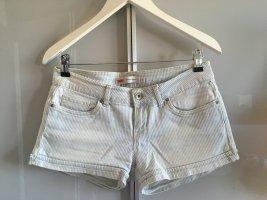 gestreifte Jeans-Shorts Levi's