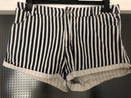 24Colours Hot Pants white-blue