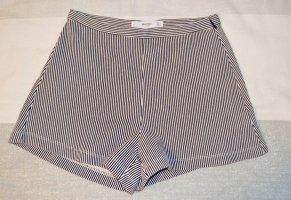 Gestreifte Mango Shorts