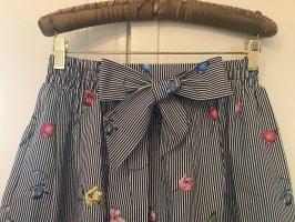 H&M Rozkloszowana spódnica Wielokolorowy Bawełna
