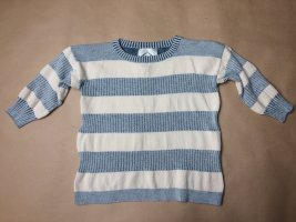 Maglieria Veneta Short Sleeve Knitted Jacket natural white-azure