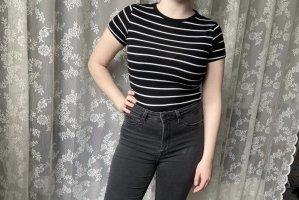 Atmosphere Shirt basique blanc-noir
