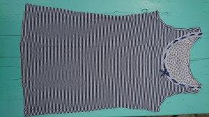 Deerberg Tank Top white-dark blue