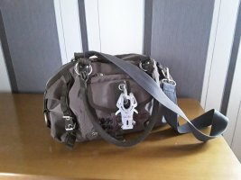 George Gina & Lucy Sac Baril gris brun polyester
