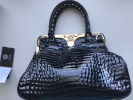 Gianni Versace Lackleder Handtasche