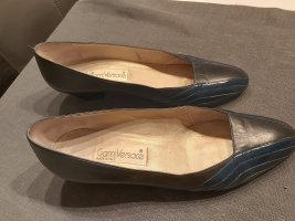 Gianni Versace Pumps in dunkelgrau/dunkelblau Größe 40.5